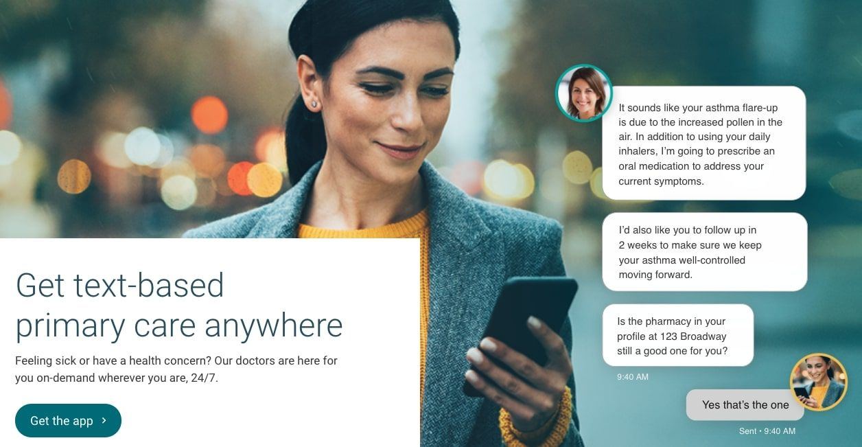 On-demand, Text-based Primary Care